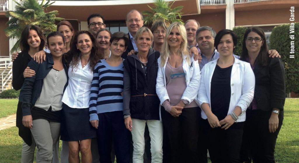Foto team Villa Garda